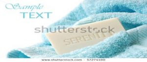 Shutterstock - stock-photo-embossed-soap-with-bath-towel-on-white-background-with-copy-space-macro-with-shallow-dof-57274180-2